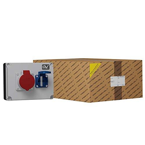 WANDDOSE WDD Industrial Electrico mit STECKDOSEN Mennekes 1x16A 1x230V STROMVERTEILER 6688