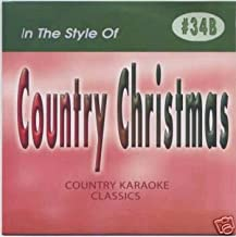 CHRISTMAS Country Karaoke Classics CDG Music CD