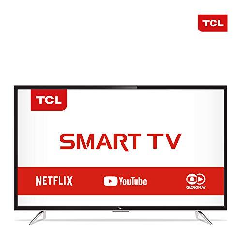 Smart TV 40' HD, TCL L40S4900FS, Preta