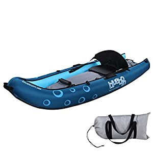 Blueborn Coasteer SRE240 Sit-On-Top Boat 1 person 240x88 cm canoe, kayak, inflatable boat, blue