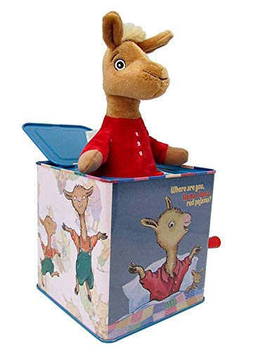 KIDS PREFERRED Llama Llama - Jack in The Box Musical Toy (Pop Goes The Weasel Jack In The Box)