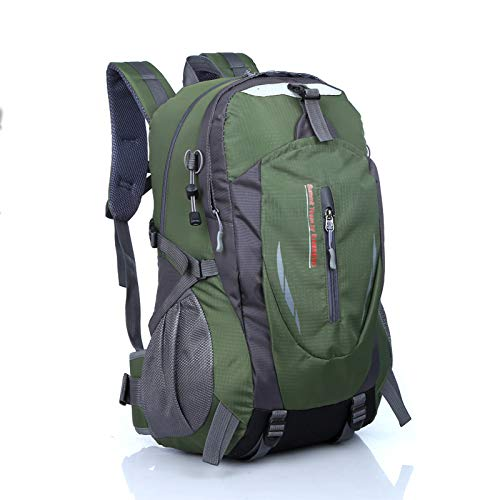 LBMY Mountaineering Backpack, Lightweight 30L Ultralight Backpack, Water-Resistant Camping Outdoor Backpack for Travelling Climbing Hiking,Green