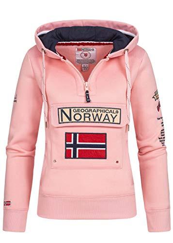 Geographical Norway - Sudadera para mujer rosa XL