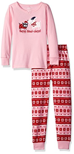 Gymboree Big Girls Graphic Tight-Fit Pajamas - size 18-24 , Holidays