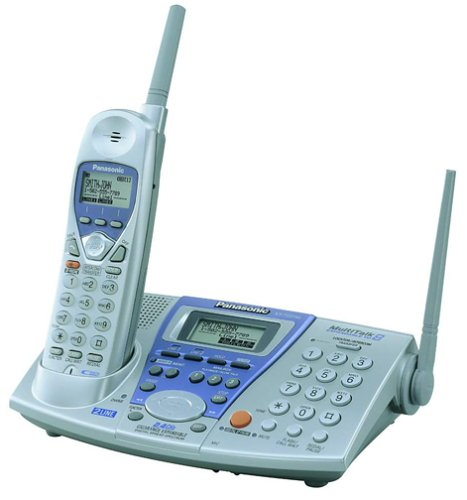 Panasonic KX-TG2740S 2.4 GHz DSS 2-Line Expandable Cordless Speakerphone with Answering System and Caller ID