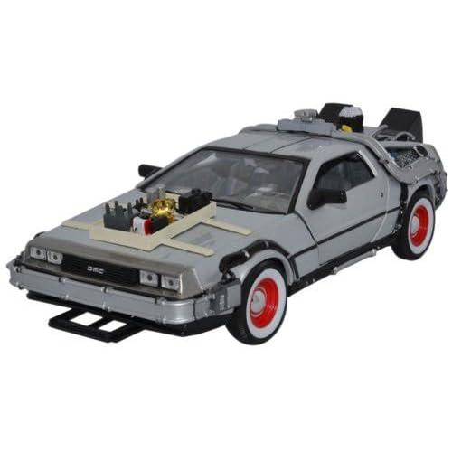 Welly 22444W - Regreso al Futuro Parte III, DeLorean Diecast Collectors model escala ...
