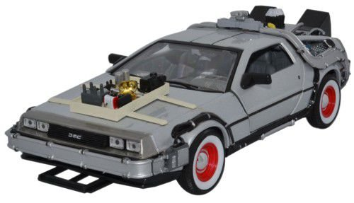 Welly 22444W - Regreso al Futuro Parte III, DeLorean Diecast