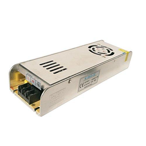 IKSACE 12V LED Netzteil Monitor Treiber Heimgebrauch Adapter Industrietransformator für LED-Streifen Industrielle Stromversorgung Monitor Treiber Adapter Transformator 1360W DC12V 30A für LED-Streifen