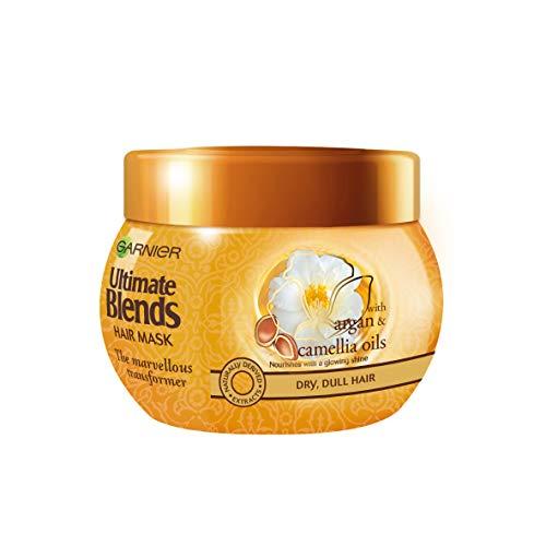 Garnier Ultimate blends trattamento/maschera all'olio di argan per capelli, 300 ml