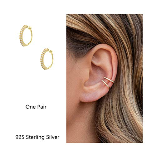 ilasif 4 Pairs Clip on Hoop Earrings Non Pierced Clip on Earrings for Women Girls Gifts 50mm