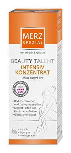 Merz Spezial Pflegecreme Beauty Talent Intensivkonzentrat – Spezielles Konzentrat zur Reduktion von Narben & Dehnungsstreifen– 1 x 75 ml Tube