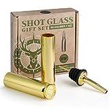 BarrelWare Premium Metal Shot Glasses