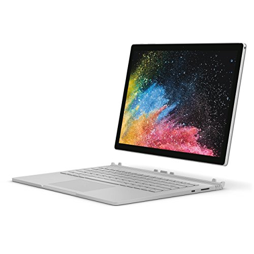 Microsoft Surface Book 2 HNQ-00001 Detachable 2-IN-1 Business Laptop - 13.5' TouchScreen (3000x2000), 8th Gen Intel Quad-Core i7-8650U, 1TB PCIe SSD, 16GB RAM, Nvidia GTX 1050, Windows 10 Pro Creators