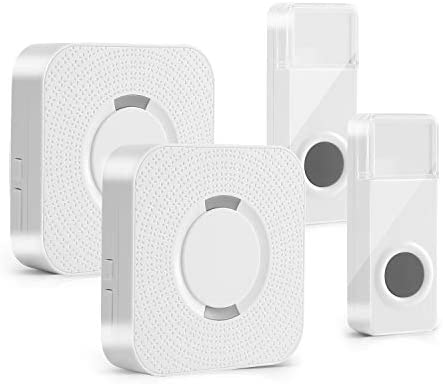 Wireless Doorbell Fityou Waterproof Door Bells Chimes Wireless Kit Operating at 1000 Feet with product image
