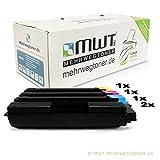 5x Kraft Office Supplies cartouche de toner pour Utax CLP 3726 remplace toutes les couleurs Druckerpatronen Cartridges
