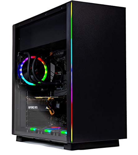 SkyTech [RTX 2080] Oracle X – VR Ready Gaming Computer PC Desktop – Ryzen 7 2700X, RTX 2080 8GB, 240GB SSD, 1TB HDD, 120mm Liquid Cool, 16GB DDR4, Window 10 Home – RGB Fans