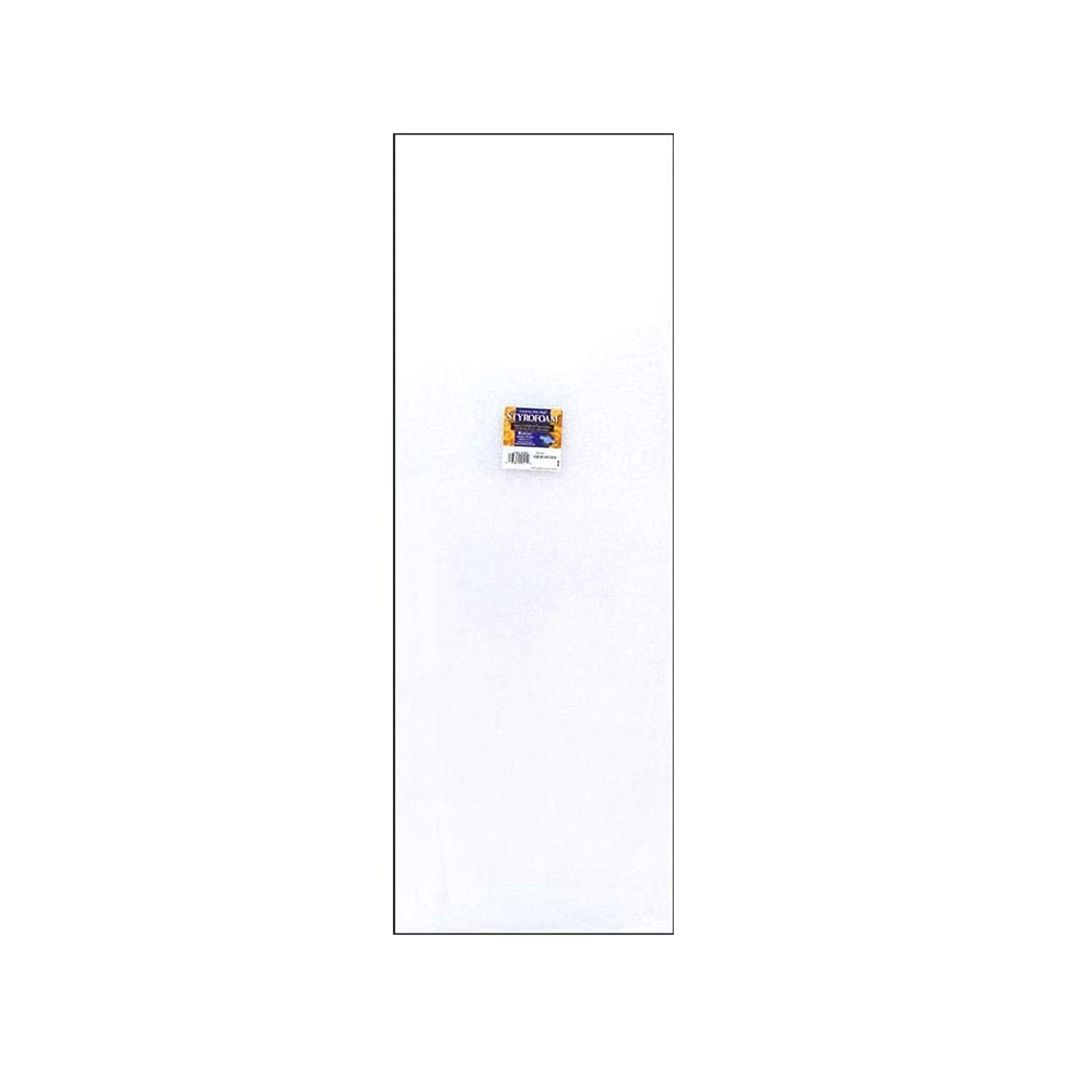 FloraCraft FLO20B1WS White Flora Craft Styrofoam Sheet Package, 1