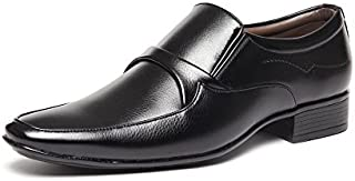Bacca Bucci Men Black PU Fromal Shoes
