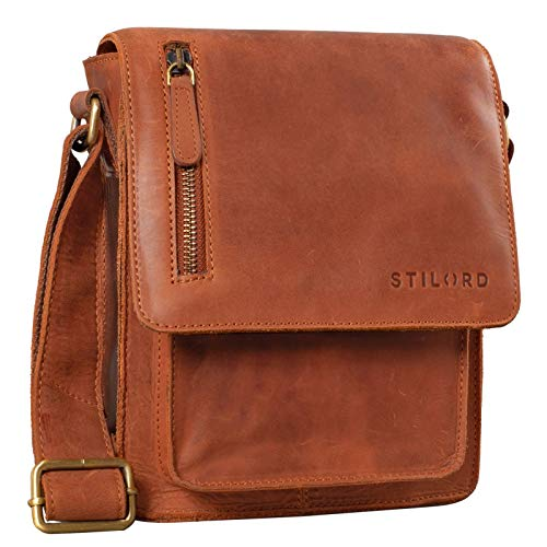 STILORD Leather Shoulder Bag Small for Men and Women/Cross Body...