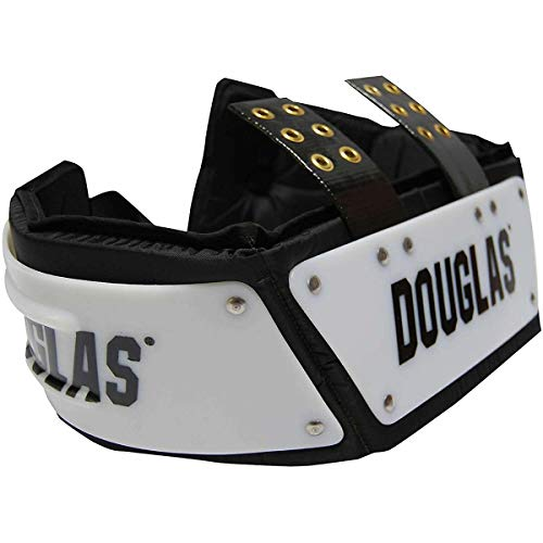 Douglas Football Adult Adjustable SP Series Rib/Back Protector Pad Combo (6' Rib Protector)