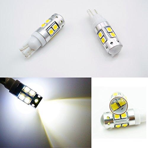 2 x 50 W T10 W5 W 501 194 CREE LED haute puissance de voiture Blanc stationnement inversée Tail ampoules