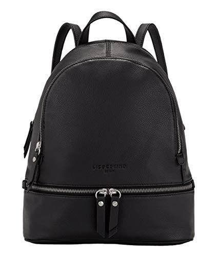Liebeskind Berlin Damen Alita Backpack Rucksackhandtasche, Schwarz (Black), Medium