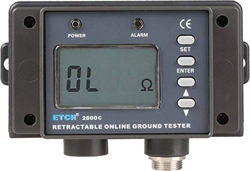 Buy Discount XINXI-MAO Safe Meter ETCR2800C Multifunction Non-Contact Resistance Online Tester Pract...