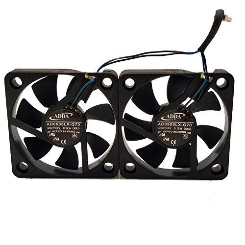 2PCS ADDA AD0505LX-G70 X8J FOR HP V20 V25 Laptop fan 5V 0.12A cooling fan