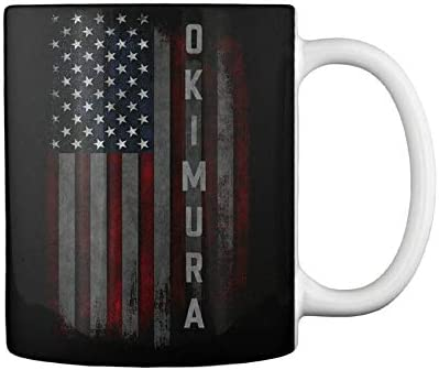 Okimura Family low-pricing American Mug Max 41% OFF Gift Coffee