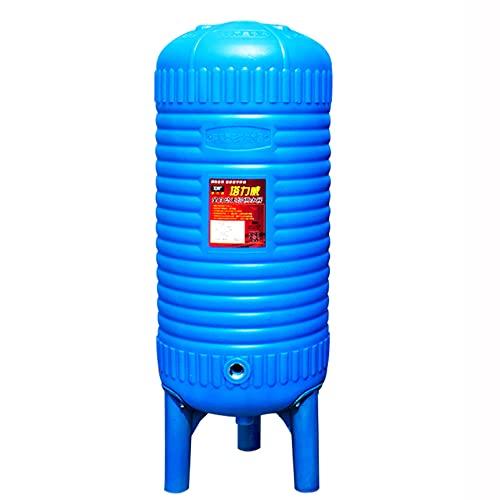 Tanque de presión de almacenamiento de agua de PE, tanque de expansión del sistema de suministro de agua de refuerzo vertical de la torre de refuerzo de agua de pozo automático, tanque de suministro