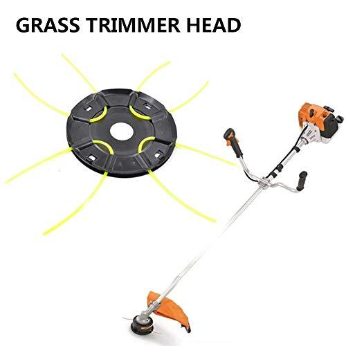 briskay - Cortador de hierba, cabezal de cortacésped resistente, cabezal de cortacésped para malas hierbas, accesorios de cortacésped universal