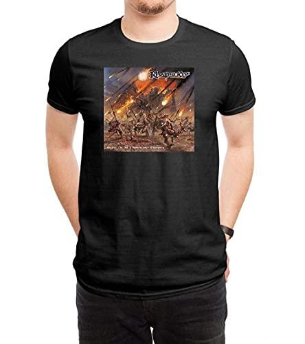 Jupsero Rhapsody of Fire Rain of A Thousand Flames Camiseta de Regalo para Hombre