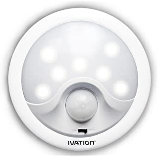 Ivation 8 Led Automatic Motion Sensing Night Light Battery Powered Bright Hallway Light With A Built In Motion And Light S...