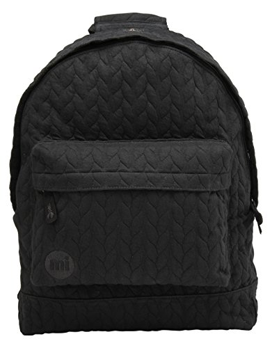 Mi-Pac GTM092 Premium, Mochila Tipo Casual, 41 cm, 17 Litros, Jersey Black