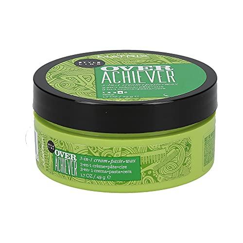 MATRIX Style Link Over Achiever 3-In-1 Cream Paste Wax, Creates Texture, for Short Hair, 1.7 Fl Oz