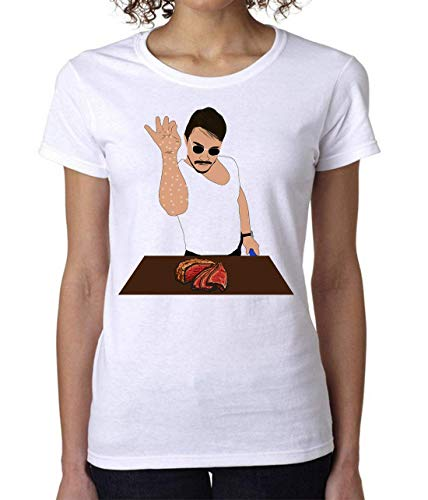 Nomorefamous Salt Man Bae Steak Women's T-Shirt Camiseta Mujer Tshirt