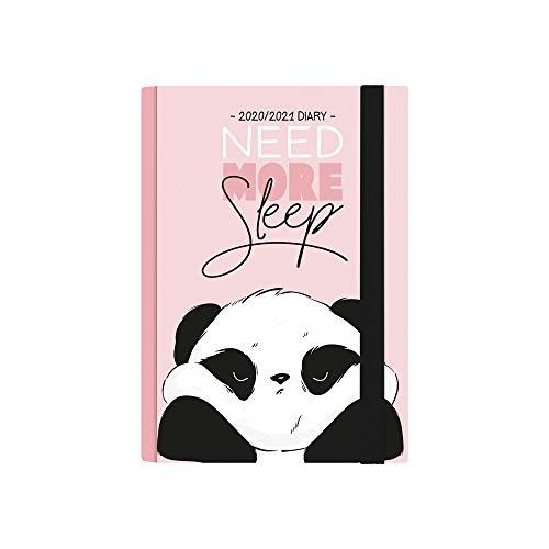 Legami - Agenda Settimanale 16 Mesi 2020/2021 Small, con Notebook, Panda