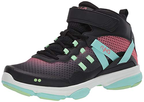 RYKA Women's Devotion XT Mid Training Shoe, Black Multi, 7.5