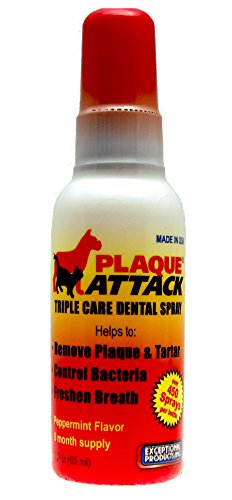Plaque Attack Pet Dental Spray