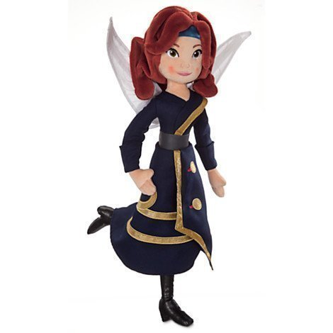 Disney Zarina Plush Doll - The Pirate Fairy - 18'' by The Disney Store