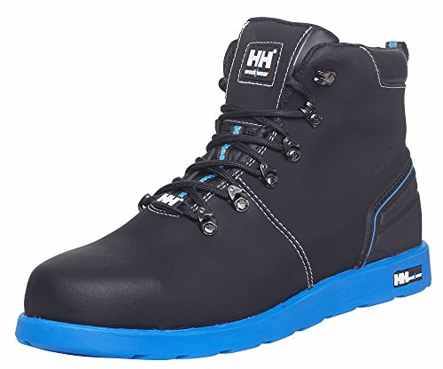 Helly Hansen Workwear 78252 S3 Frogner - Botas de seguridad (piel), color negro, 42, negro/naranja