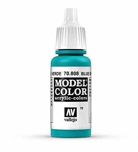 Vallejo Model Color Pintura Acrílica, Azul (Green Blue), 17 ml