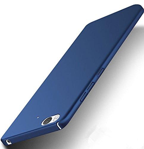 XMT Xiaomi Mi5S 5.15' (2016) Funda, Cubierta Delgado Caso de PC Hard Gel Funda Protective Case Cover para Xiaomi Mi5S 2016 Smartphone (Azul)