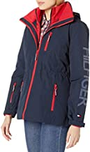 Tommy Hilfiger Women's 3 in 1 Systems Jacket, Navy, L