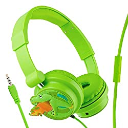 4. Moear Store Dinosaur Headphones for Kids