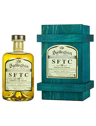 Edradour Ballechin SFTC 10 Years Old Bourbon Cask Matured 2009 Whisky (1 x 0.5 l)