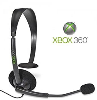 Official Microsoft Xbox 360 Wired Headset  Xbox 360  Bulk Packaging