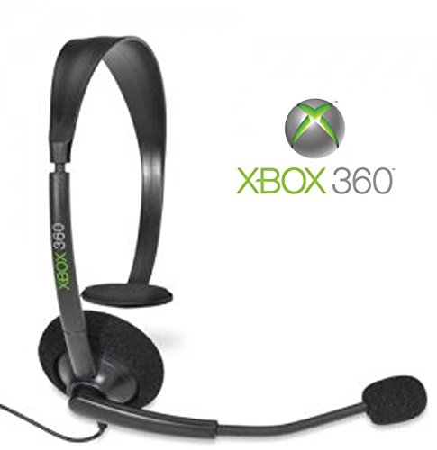 Official Microsoft Xbox 360 Wired Headset (Xbox 360) Bulk Packaging