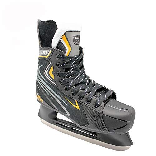 Sxmy Erwachsene Hockeyschuhe für Herren und Damen Kinder Hockeyschlittschuhe Real Skates Speed Skating Skates 38