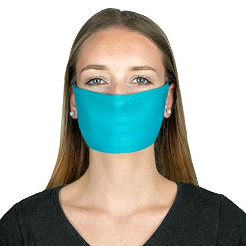 P.A.C. MN Mund-Nasen-Maske (3er-Pack) - Gesichtsmaske, Gesichtstuch, einfaches Atmen, Schlauchtuch, Halstuch, verschiedenste Designs, Unisex